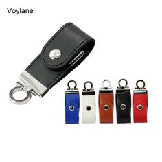 Hot sale Genuine Capacity Keychain Leather USB 2.0 flash drive 4G 8G 16G 32G 64G memory stick pen drive thumb creative gift