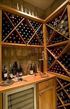 Jon Luce Builder - Tour Homes - Interiors Wine Rack, Homes, Interiors, Cabinet, Furniture, Home Decor, Style, Clothes Stand, Swag