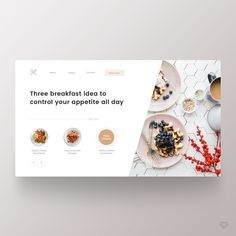 Website Design Strategies To Help You Succeed In Your Business Venture – Web Design Tips Layout Design, Food Web Design, Design Blog, Web Layout, Ui Ux Design, Banner Design, Portfolio Design, Website Design Inspiration, Daily Inspiration