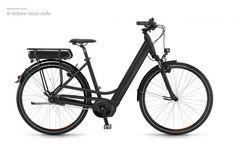 Das E Bike Winora Y170F Einrohr 7 G Nexus FL 16 schwarz matt hier auf E-Bikes-Test.info vorgestellt. Weitere Details zu diesem Bike auf unserer Webseite.