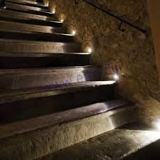 27 attractive outdoor steps lighting designs pinterest outdoor flush led wall lights along outdoor stairs aloadofball Choice Image