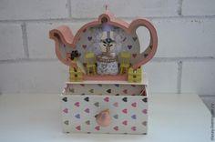 Мастерим чайный домик с нуля, без заготовки - Ярмарка Мастеров - ручная работа, handmade