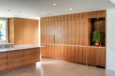 eurostyle frameless full overlay kitchen cabinets, bookend veneer, full veneer coverage front and sides.