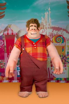 Ralph, the 'Bad Guy' Who Really Wants to be a 'Good Guy' in Disney's 'Wreck-It Ralph,' is Set to do Some Park Hopping