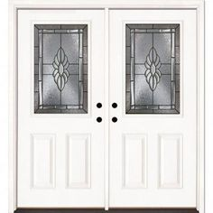Inspiring suggestions that we are fond of! #yellowfrontdoors Double Doors Exterior, Double Front Doors, Yellow Front Doors, Panel Doors, Windows And Doors, Unique Garage Doors, Feather, Smooth, Sapphire
