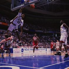 Camby with the monster dunk at UMASS