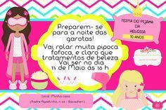 convite festa do pijama infantil para imprimir - Pesquisa Google                                                                                                                                                                                 Mais