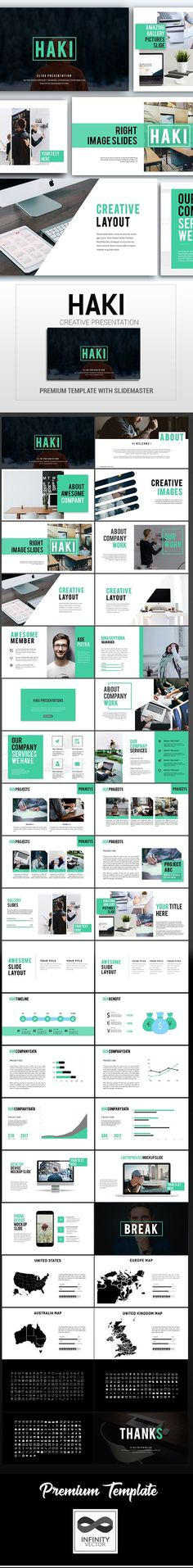 Haki - Creative Powerpoint Template