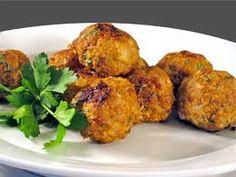 turkey meatballs made with salt & pepper popchips.