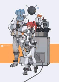 EE, M4 M4 on ArtStation at https://www.artstation.com/artwork/DyBLy