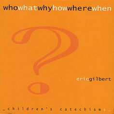 ♫ Who What Why How Where When - Eric Gilbert. Listen @CD Baby - Found It!!