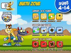¡¡¡Aprender matemáticas en la vuelta al cole nunca fue tan divertido!!! Con Monster Numbers tus hijos se lo pasarán genial mientras aprenden jugando  a contar objetos y números, identificar los números, clasificar y aprender a resolver divertidas series lógicas fáciles.