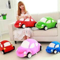 Cute Car Model Plush Toy //Price: $22.99 & FREE Shipping //     #freeshipping