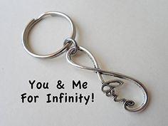 Infinity Love Symbol Keychain, Key Ring Gift, Couples Husband Wife Girlfriend Boyfriend Best Friends Sisters Dad Son Daughter, Forever Key Chain Jewelry Everyday http://www.amazon.com/dp/B00LK2G1S2/ref=cm_sw_r_pi_dp_W1CSub0E947ZB
