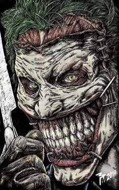 Staple Face Joker