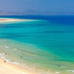 Fuerteventura The whitest beaches I had ever seen!  Ulrike