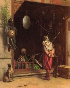/// Arms Dealer in Cairo - Jean Leon Gerome - WikiArt