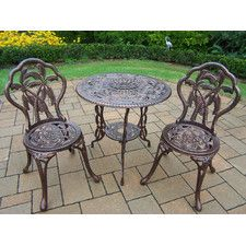 Shop a great selection of Oakland Living Palm Tree Bistro Set. Find new offer and Similar products for Oakland Living Palm Tree Bistro Set. Outdoor Dining Set, Patio Dining, Outdoor Decor, Dining Sets, Vintage Patio Furniture, Patio Furniture Sets, 3 Piece Bistro Set, Patio Bar Set, Palm Trees
