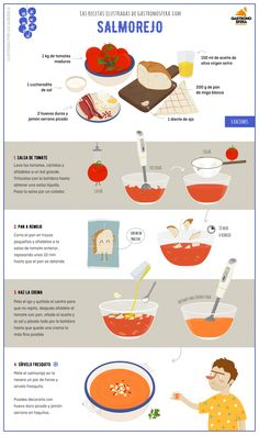 Great Recipes, Snack Recipes, Cooking Recipes, Healthy Recipes, Snacks, Traditional Spanish Dishes, Spanish Food, Food Illustrations, Fresh Vegetables