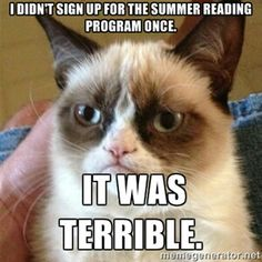 Don't make this mistake! Always sign up for Summer Reading