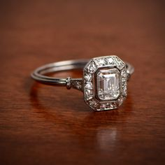 Artistic Engagement Ring Gallery - Estate Diamond Jewelry