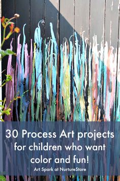 Art Spark online art course for children - process art ideas - kids art course - art workshop for children - looks amazing!
