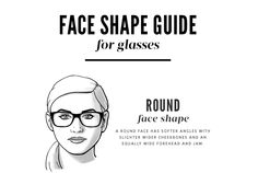 Which glasses to choose when shopping for a round shaped face!