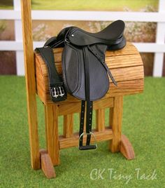 Model horse tack