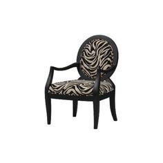 beauvoir occasional chair - zebra