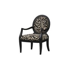 Beauvoir Occasional Chair - Zebra