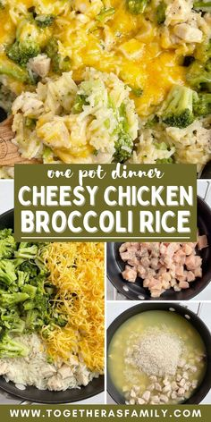 Fun Easy Recipes, Best Dinner Recipes, Quick Easy Meals, Family Recipes, Yummy Recipes, Cooking Recipes, Broccoli Dishes, Chicken Broccoli Rice, Chicken Cheese Casserole