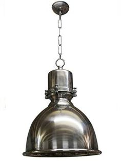 Elongated pewter dome pendants, Industrial pendants, Industrial lighting, Classic and period lighting, Holloways of Ludlow