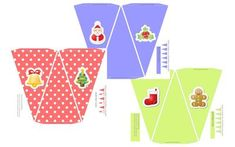 Christmas Bunting Flag Banner: Add a cute Christmas bunting flag banner to your Christmas decorations. This is a free printable to assemble at home and fun for the kids to put together