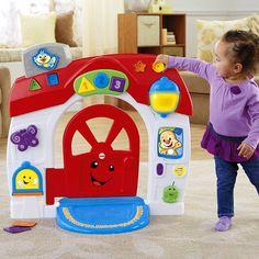 Fisher Price oyuncakları ile bebeğiniz unutulmaz eğlencelere dalıyor hem oyun oynuyor hemde temel eğitici bilgileri kolayca öğreniyor. İşste Fisher Price eğitici köpekçiğin akıllı evi devasa boyutları ile bebeğinizi eğlendirirken hem fiziksel aktivite hem de zihinsel aktiviteler ile ona temel eğitimleri öğretecek....