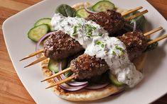 Kefta Kabob Recipe, Lamb Kabobs Recipe, Lamb Kebabs, Beef Kabobs, Beef Kofta Recipe, Lamb Roast Recipe, Kabob Recipes, Meat Recipes, Lamb Mince Recipes