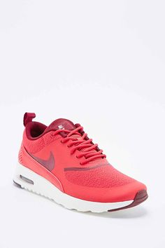 new product 25ddb e4b74 Nike Air Max Thea Trainers in Red