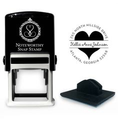 Personalized Stamper from Invitation Box