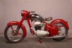 1952 JAWA 500 OHC motorcycle