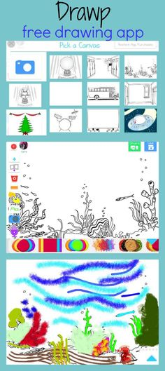Drawp, a Unique Drawing App for Kids