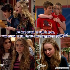 Lucaya Lucas Friar and Maya Hart. Love quotes. Disney Channel Girl Meets World. Sabrina Carpenter and Peyton Meyer.