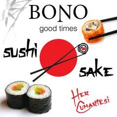 #sushi #sake #bonogoodtimes #asianfood #marmaris