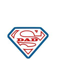 Super Dad Die Cut Vinyl Decal Pv772 Silhouette