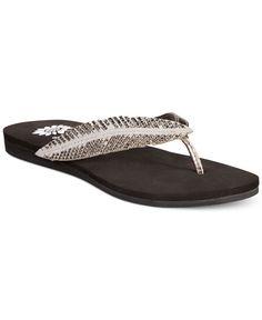 9b39c37fafe2c Yellow Box Petronia Feather Flip Flops Shoes - Sandals   Flip Flops - Macy s