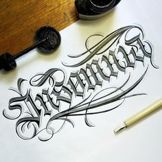 Gothic Lettering, Cool Lettering, Types Of Lettering, Lettering Design, Lettering Ideas, Calligraphy Types, Calligraphy Handwriting, Calligraphy Quotes, Calligraphy Letters