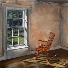 Christina's chair- Andrew Wyeth