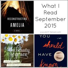 What I Read | September 2015