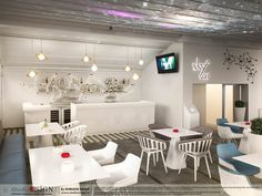 Design interior Galaxy Bar in Bucuresti - Studio inSIGN Chandelier, Ceiling Lights, Bar, Interior Design, Studio, Lighting, Home Decor, Nest Design, Candelabra