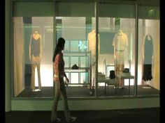 Philips Research interactive shopping window