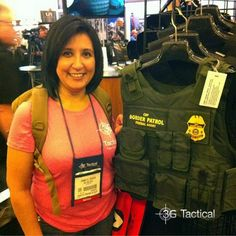 Wait. What? Jannette at the 2014 SHOT Show Shot Show, North Face Backpack, Over The Years, The North Face, Shots, Fashion, Moda, The Nord Face, Fashion Styles