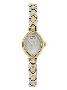 Titan launched new Watch - 2497YM03. Watch Color: White, Function: Regular, Gender: Women, Material: Metal
